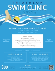 Triathlon Swim Flier