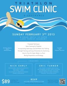 Triathlon Swim Flier